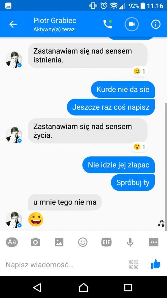 Messenger - tak wyglądają reakcje
