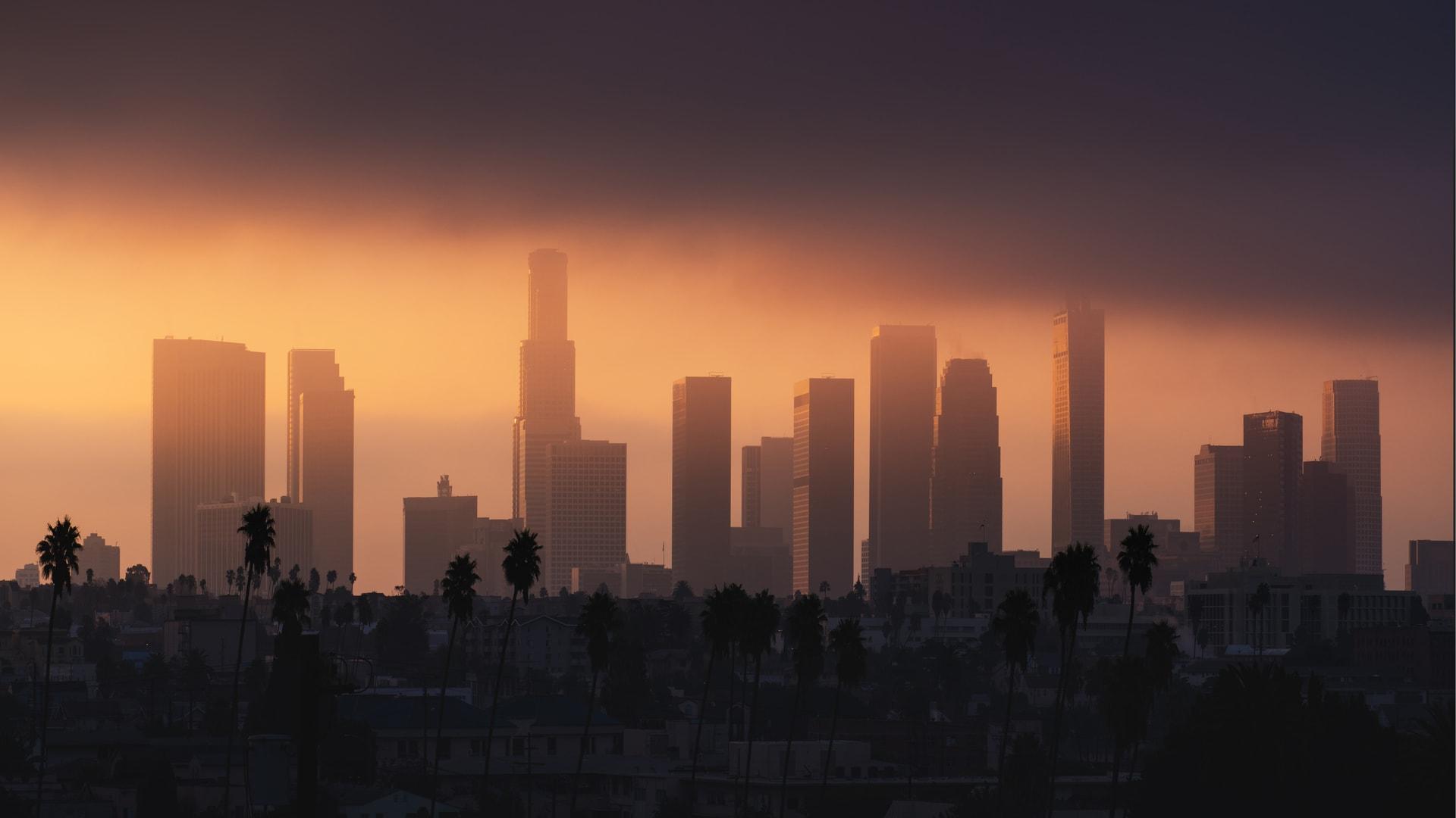 Smog w Los Angeles
