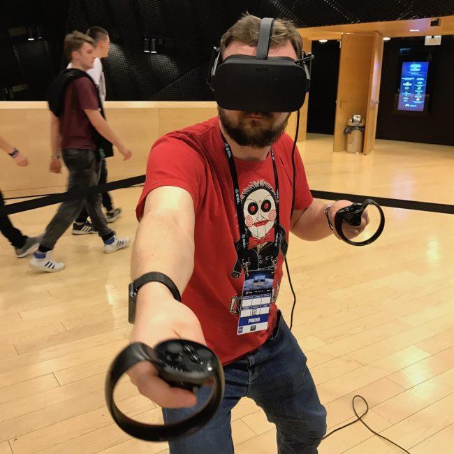 Superhot VR Oculus Rift IEM 2017