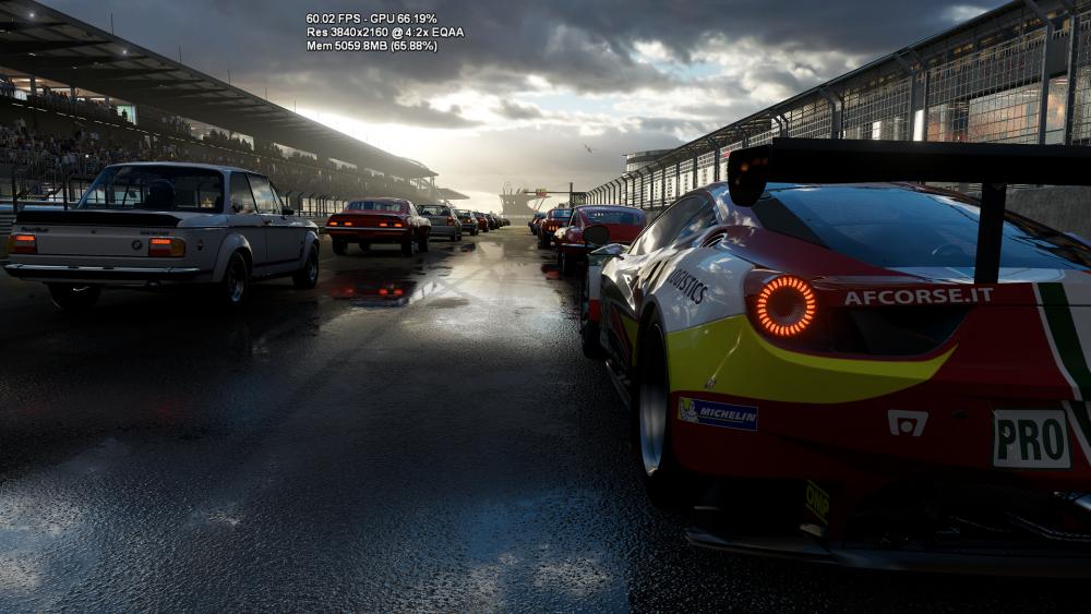 Forza Motorsport działa na Project Scorpio w rozdzielczości 4K i płynności 60 klatek na sekundę.