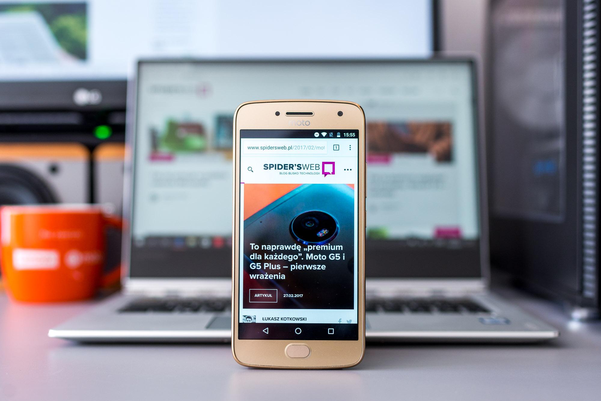 Moto G5 Plus, czyli tanio, a dobrze. To bardzo dobry smartfon do 1000 zł.