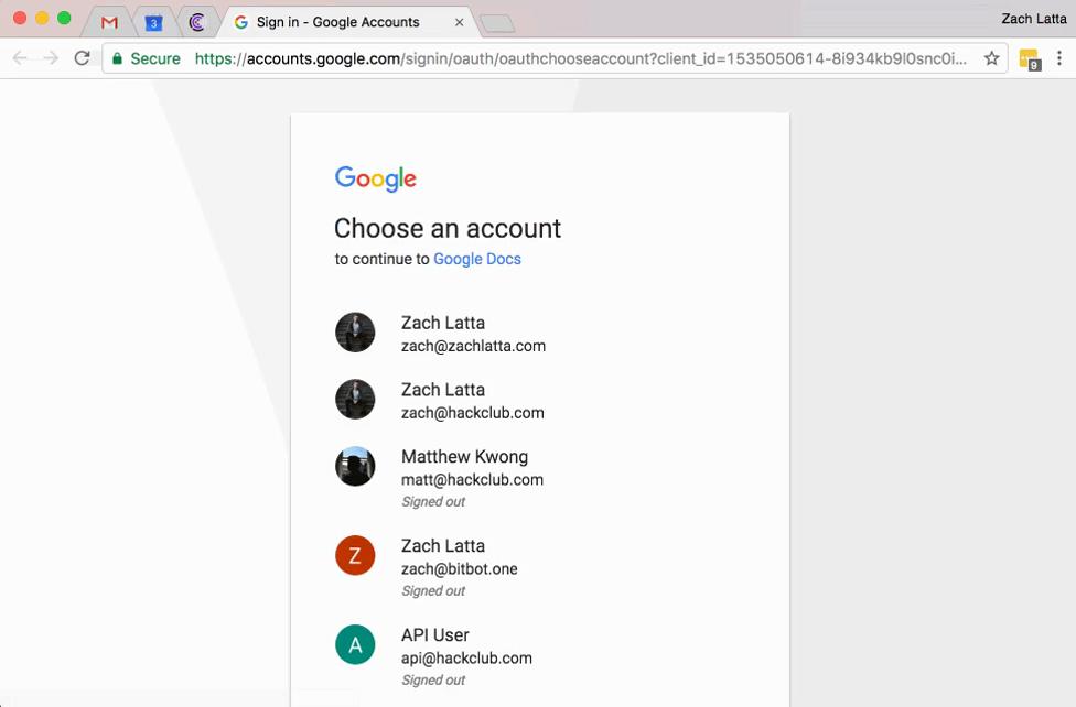 Atak na konto Google.