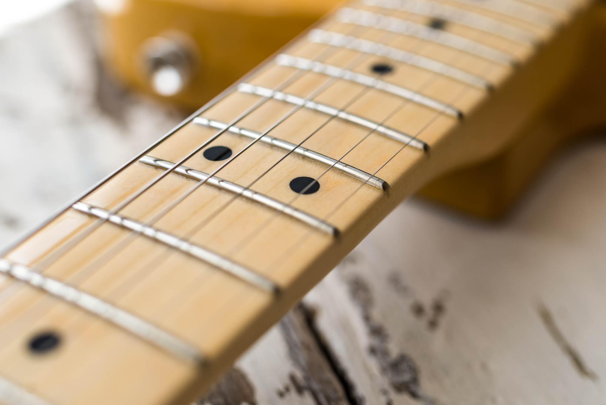 Nauka gry na gitarze dla geeka