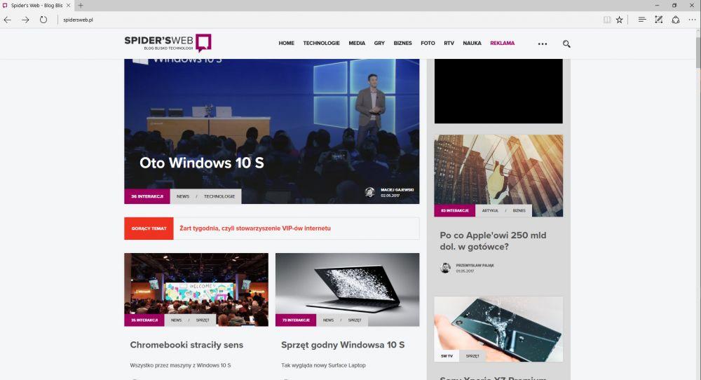 Windows 10 S kontra Windows 10 Pro