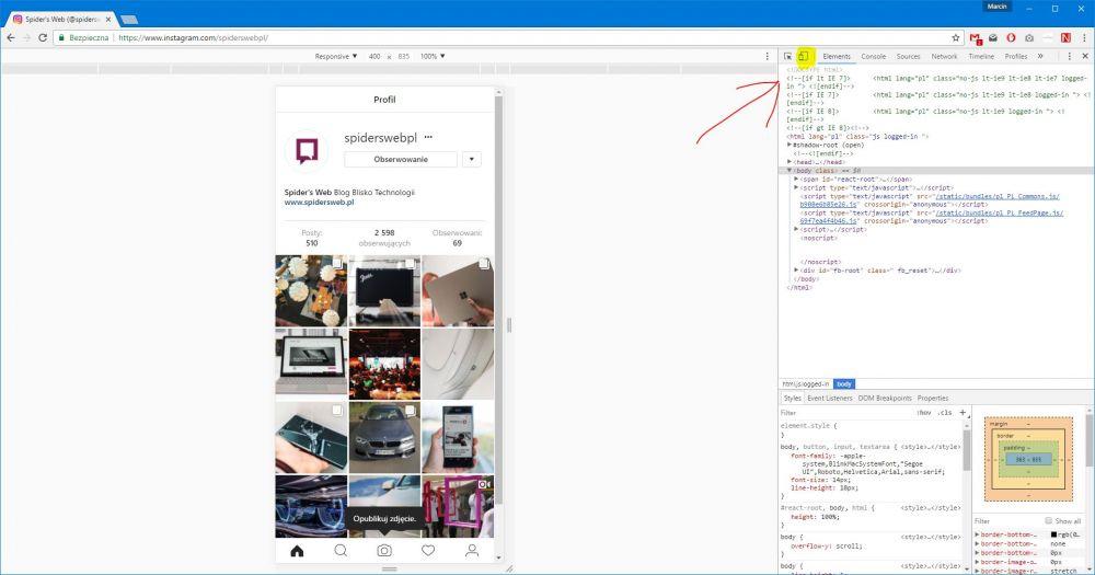 Jak dodać zdjęcie na Instagram z komputera PC?