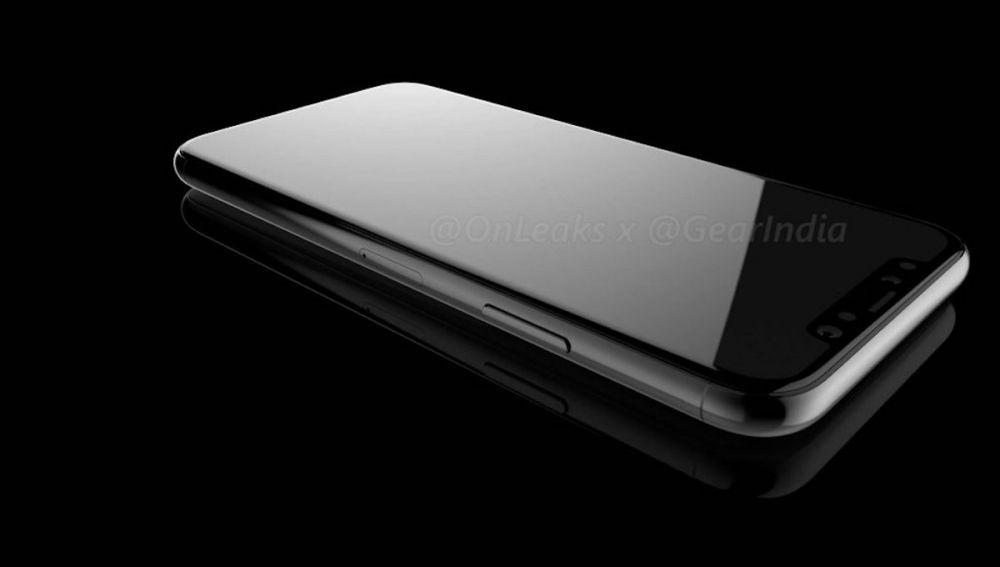 iPhone 8 OnLeaks render