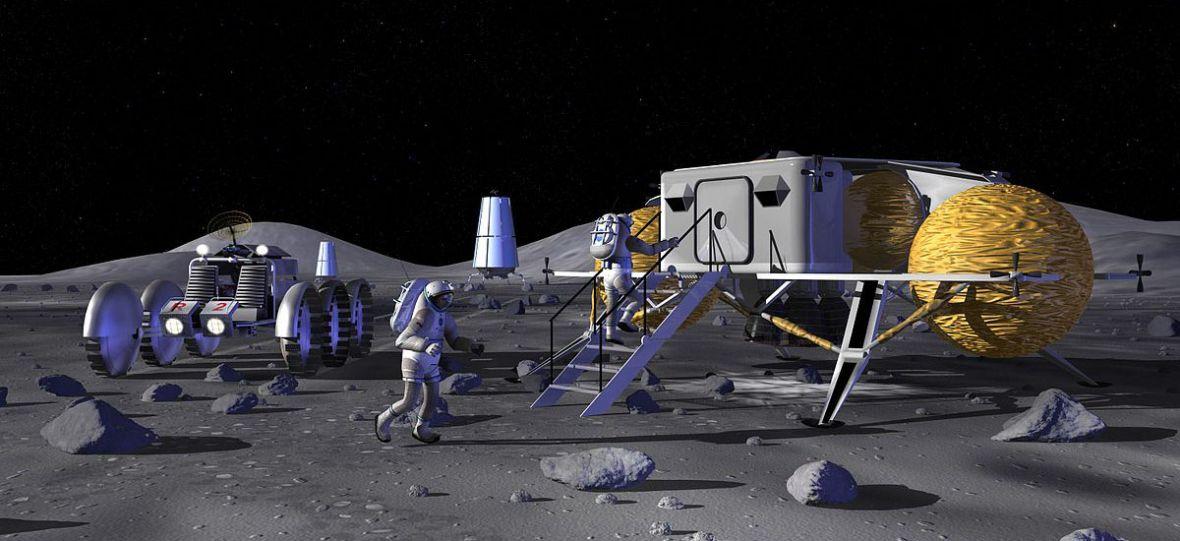 Ludzie mogą niebawem powrócić na księżyc. Wszystko po to, by… zbudować stację paliw