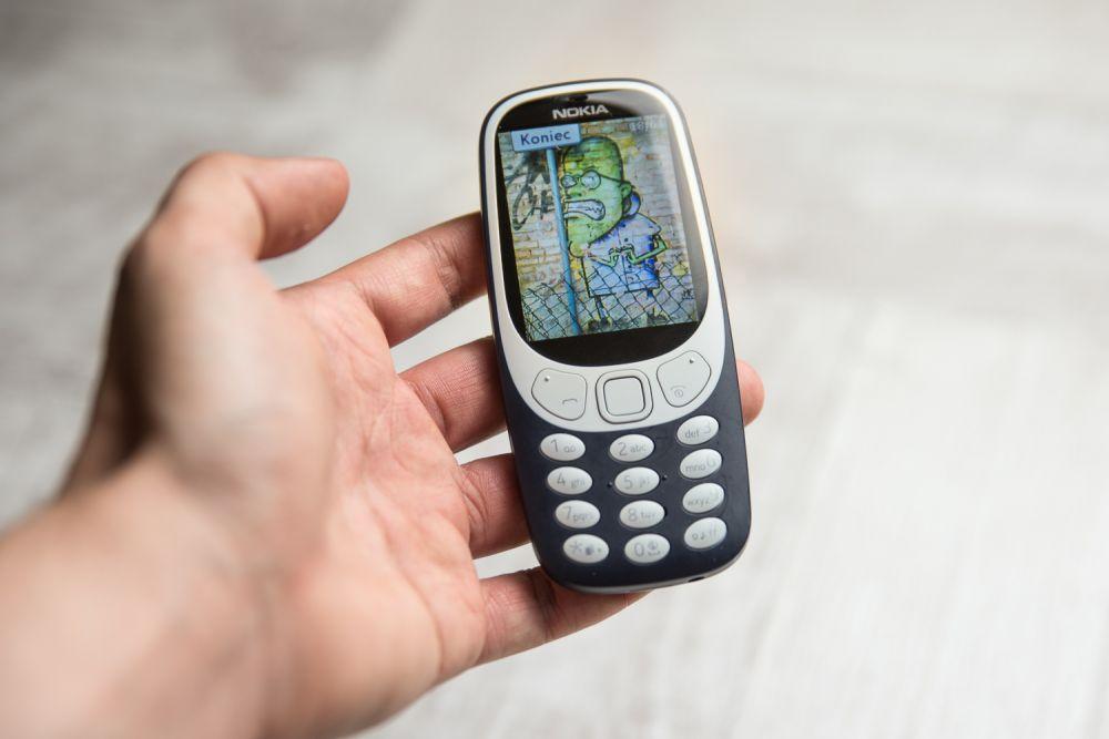 Nokia 3310 - test aparatu