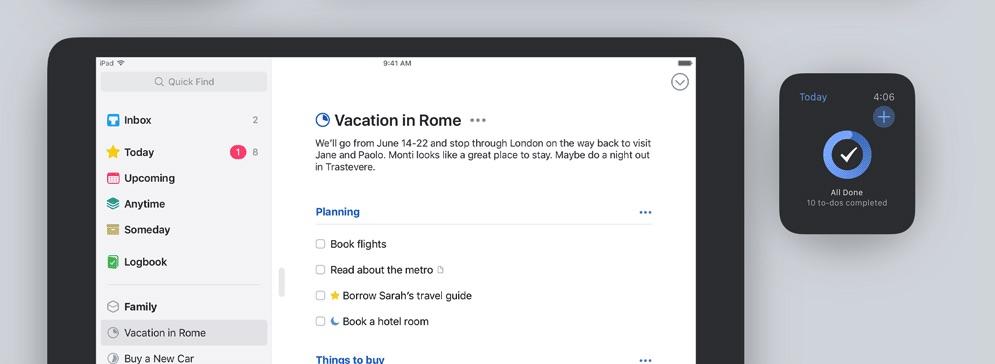 things 3 iphone mac ipad to-do