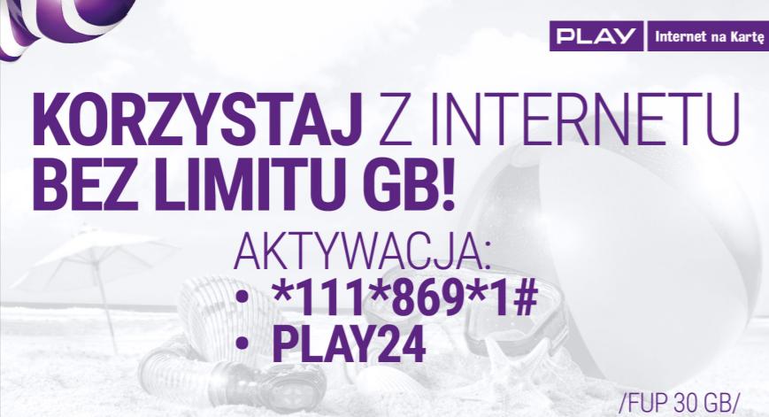 Play Internet za darmo