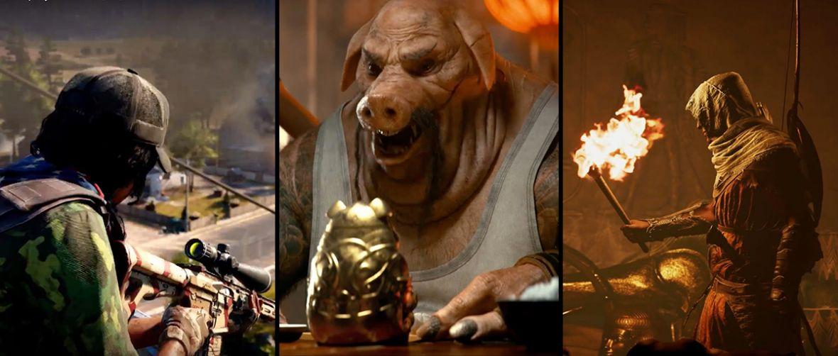 Ubisoft zniszczył system na E3 2017. Podsumowanie i zwiastuny z najlepszej konferencji Francuzów od lat