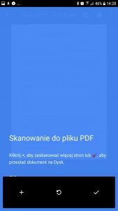 adobe scan - skaner dokumentów PDF z OCR
