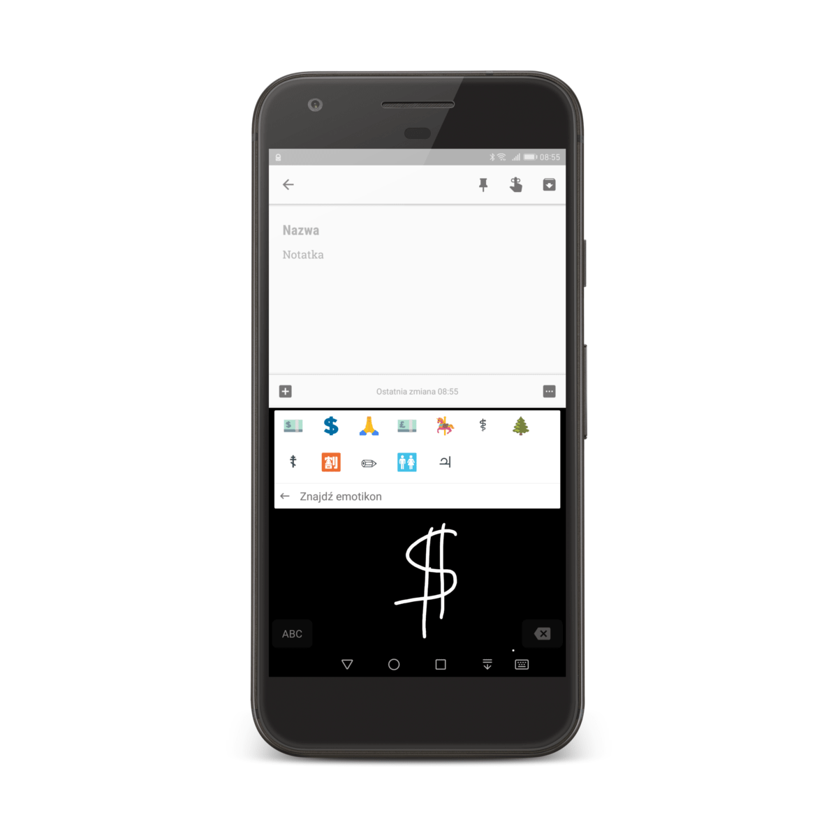 Gboard klawiatura emoji dla Androida