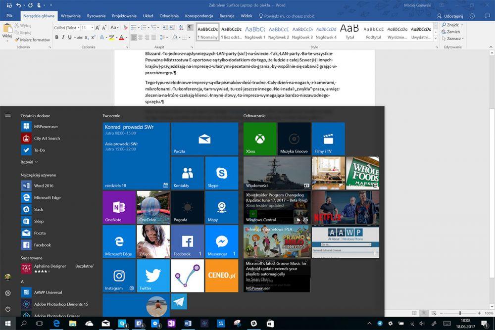 Surface Laptop wrażenia