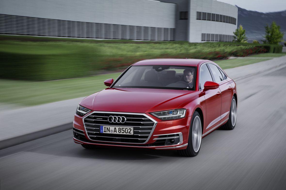 Nowe Audi A8, czyli zachęcanie przez zniechęcanie
