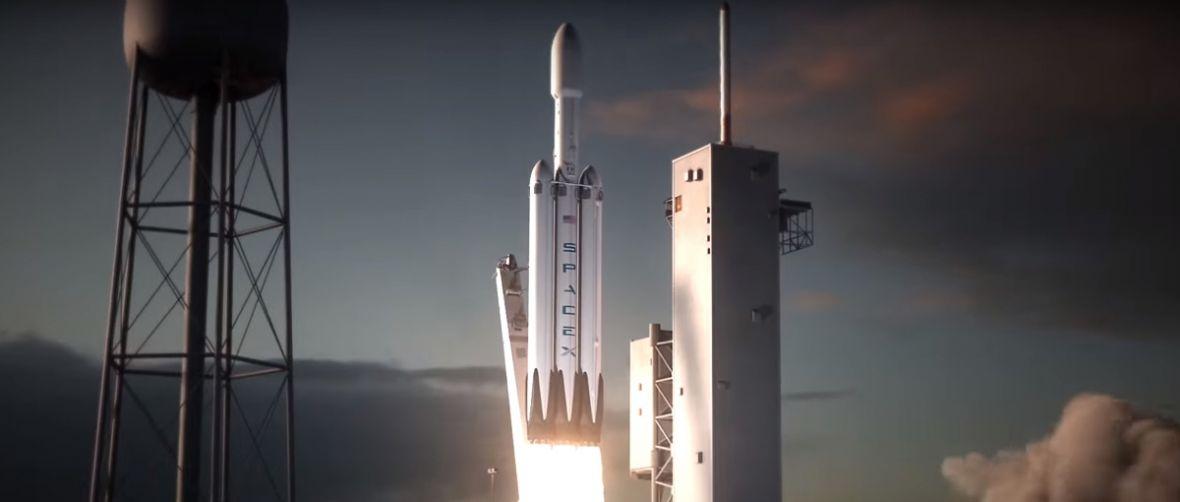 Elon Musk studzi emocje. Rakieta Falcon Heavy podczas dziewiczego lotu może nie osiągnąć orbity