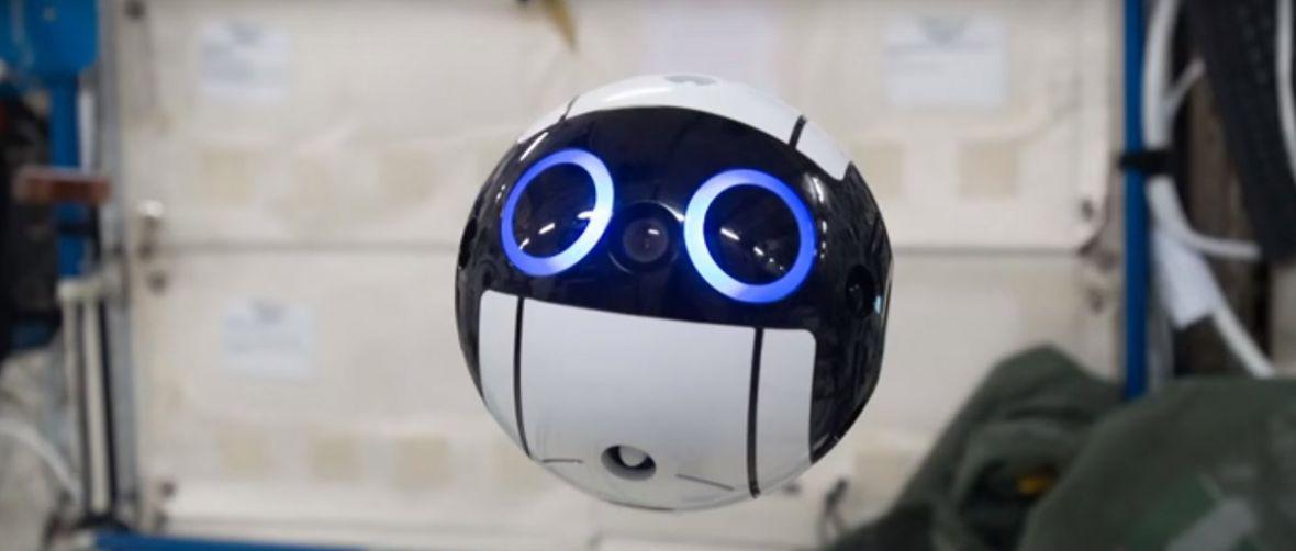 Astronauci z ISS mają swojego własnego drona. Int-Ball wygląda jak BB-8 z Gwiezdnych wojen
