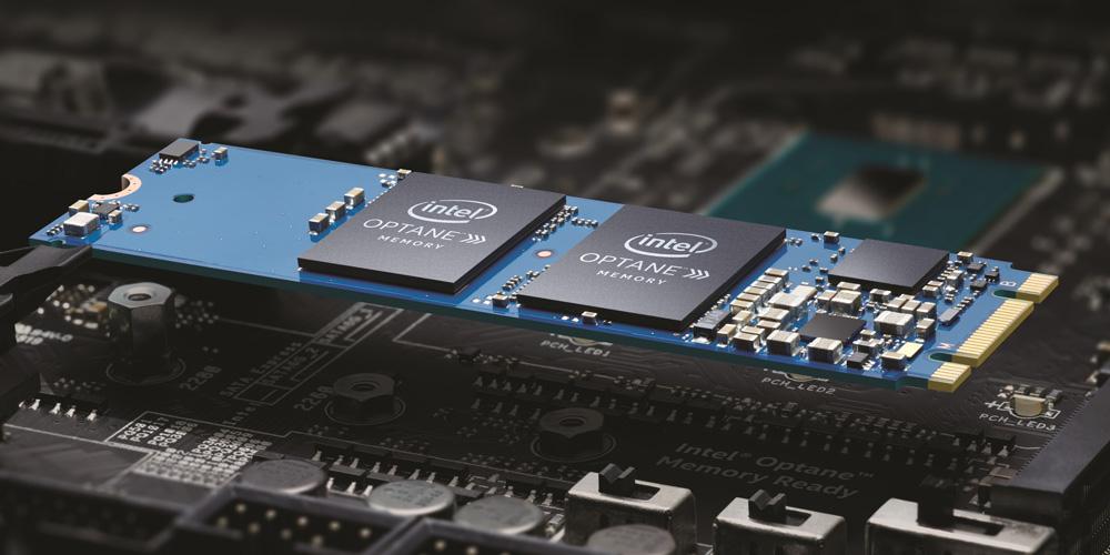 Pamięć Intel Optane skutecznie przyspiesza przestarzałe dyski SSD.