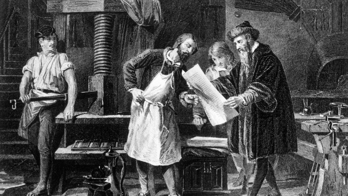 Gdyby Gutenberg żył współcześnie, dałby sobie spokój z prasą i poszedł w druk online