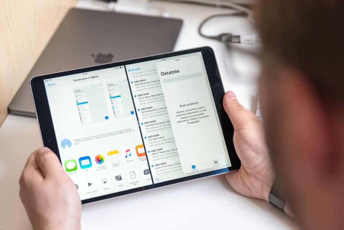 Pokaz możliwości iOS 11 na iPadzie to reklamy, z których firma może być dumna