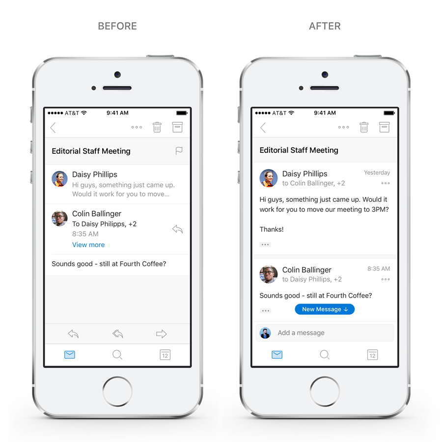 mobilny Outlook