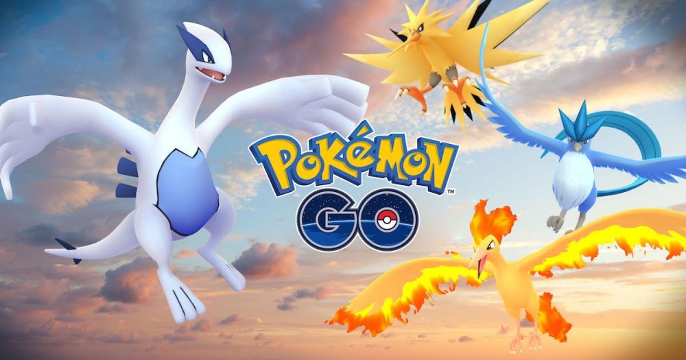 pokemon go legendarne pokemony raidy lugia articuno