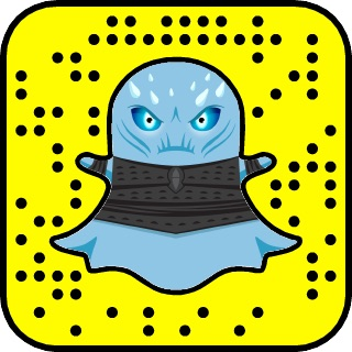snapchat filtr gra o tron 7 snapkod