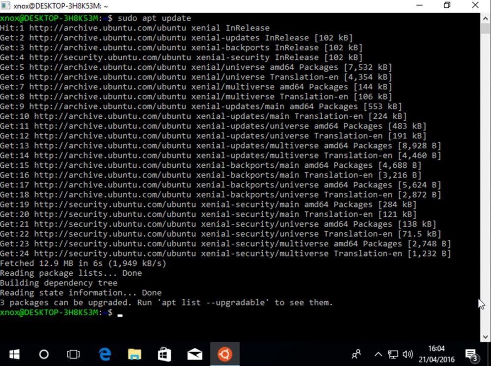 Ubuntu na Windows