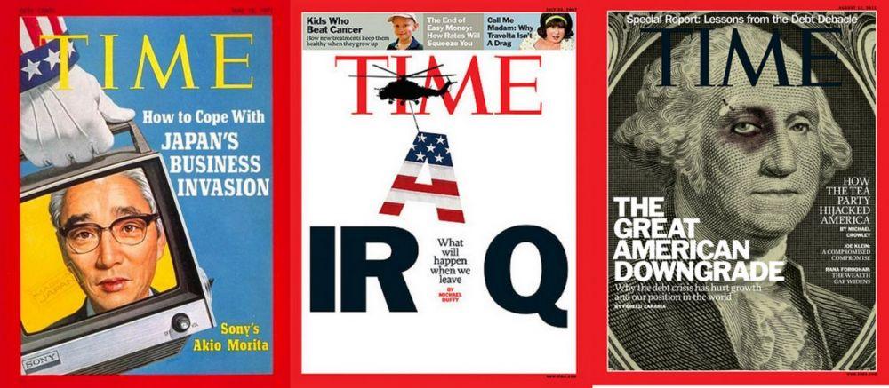 okładki Time'a