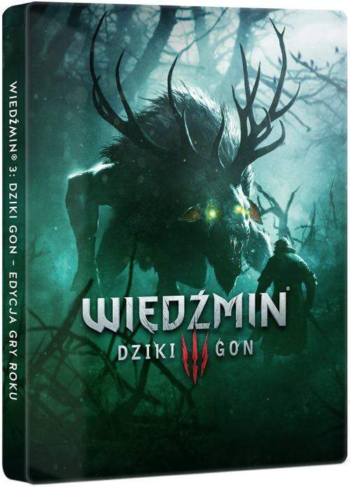 Dosłownie kilka dni temu zapowiedziana została reedycja pierwszej części gry Wiedźmin w steelbooku. Teraz CDP Red idzie za ciosem i wydaje podobne wersje kolejnych części sagi o Geralcie z Rivii.