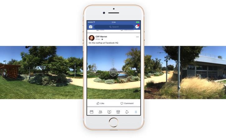 facebook 360 zdjecia sferyczne