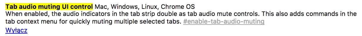 blokada dźwięku w google chrome