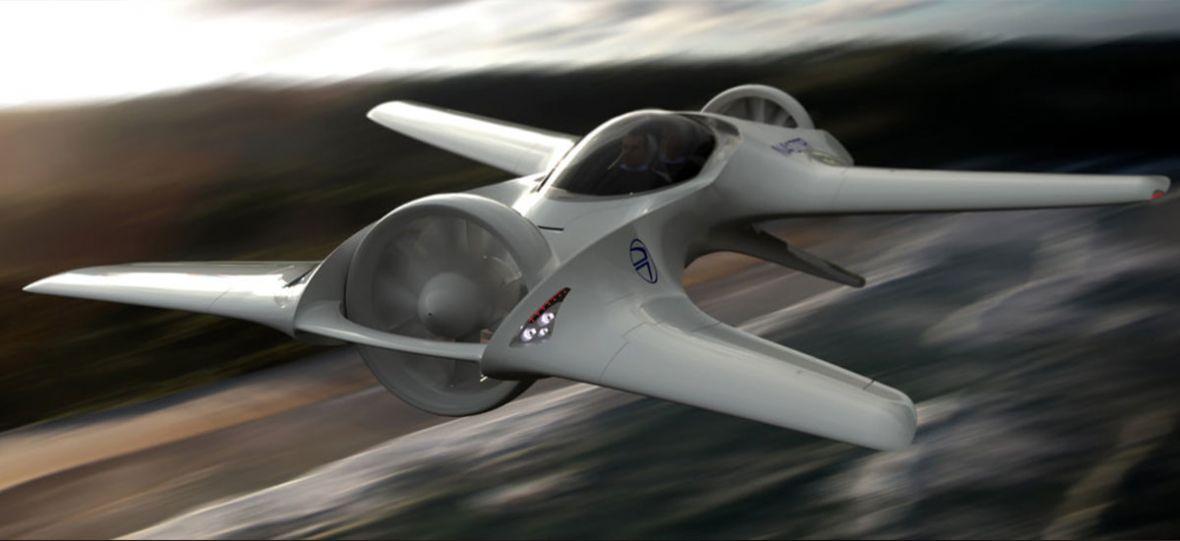 DeLorean pracuje nad autonomicznym, elektrycznym samochodem z funkcją… latania