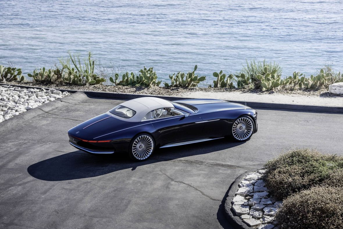6 metrów czystego piękna. Oto Vision Mercedes-Maybach 6 Cabriolet