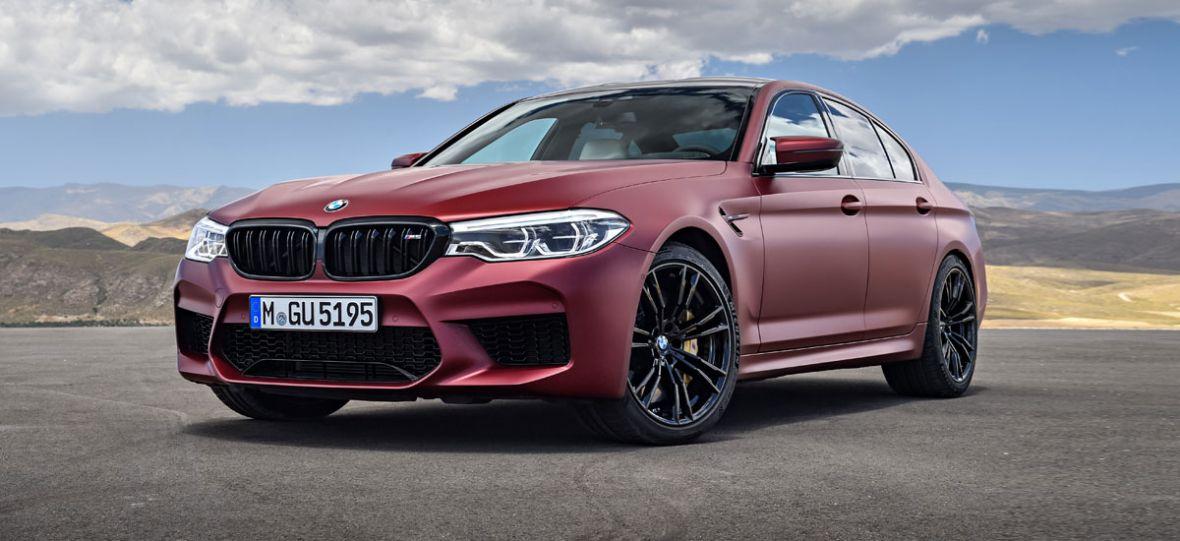 Oto nowe BMW M5. Szybkie, zwinne i stworzone do jazdy bokiem