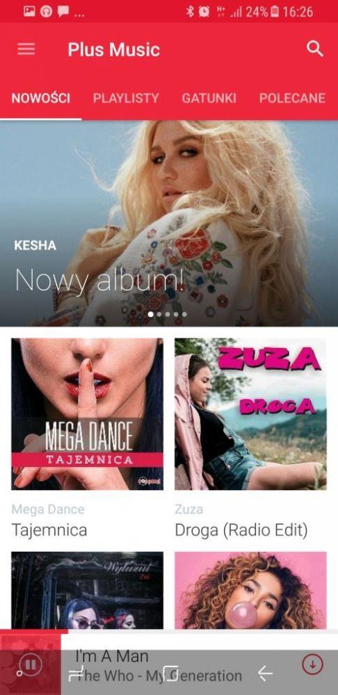 Plus Music aplikacja