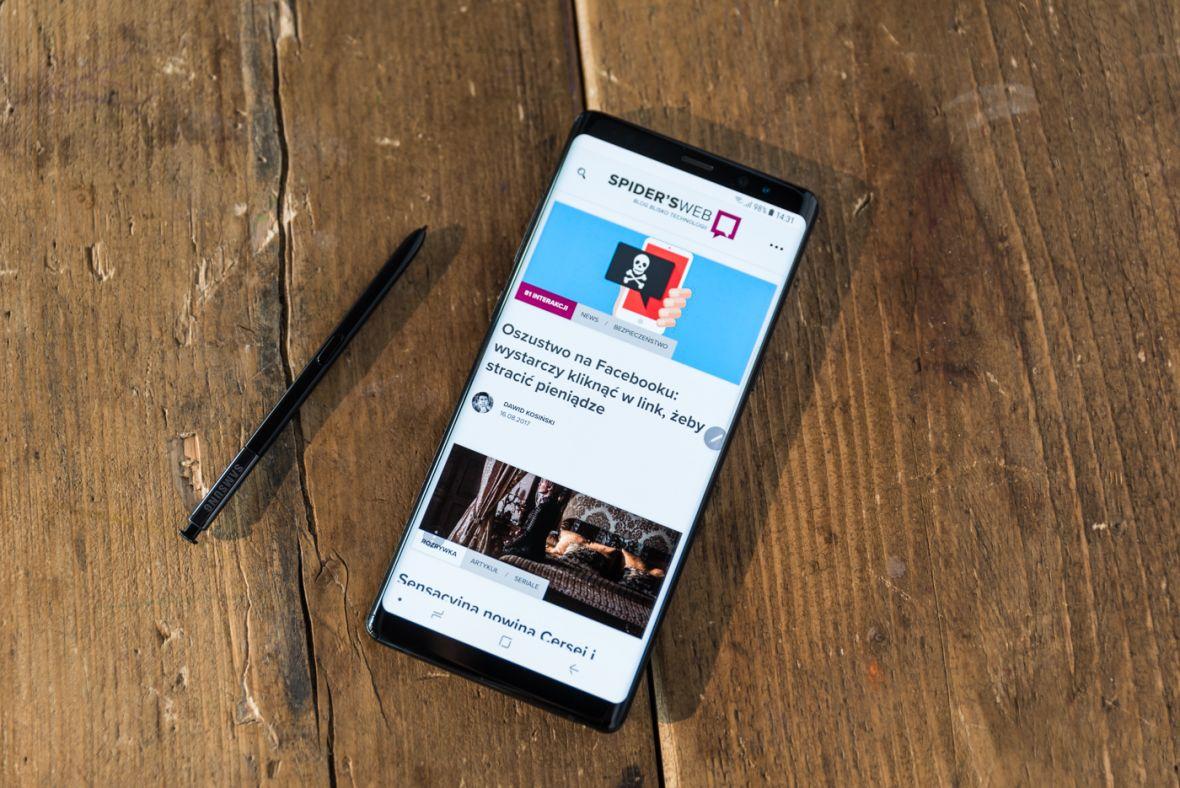Tak, Galaxy Note 8 jest drogi. I nie, nie ma w tym nic dziwnego