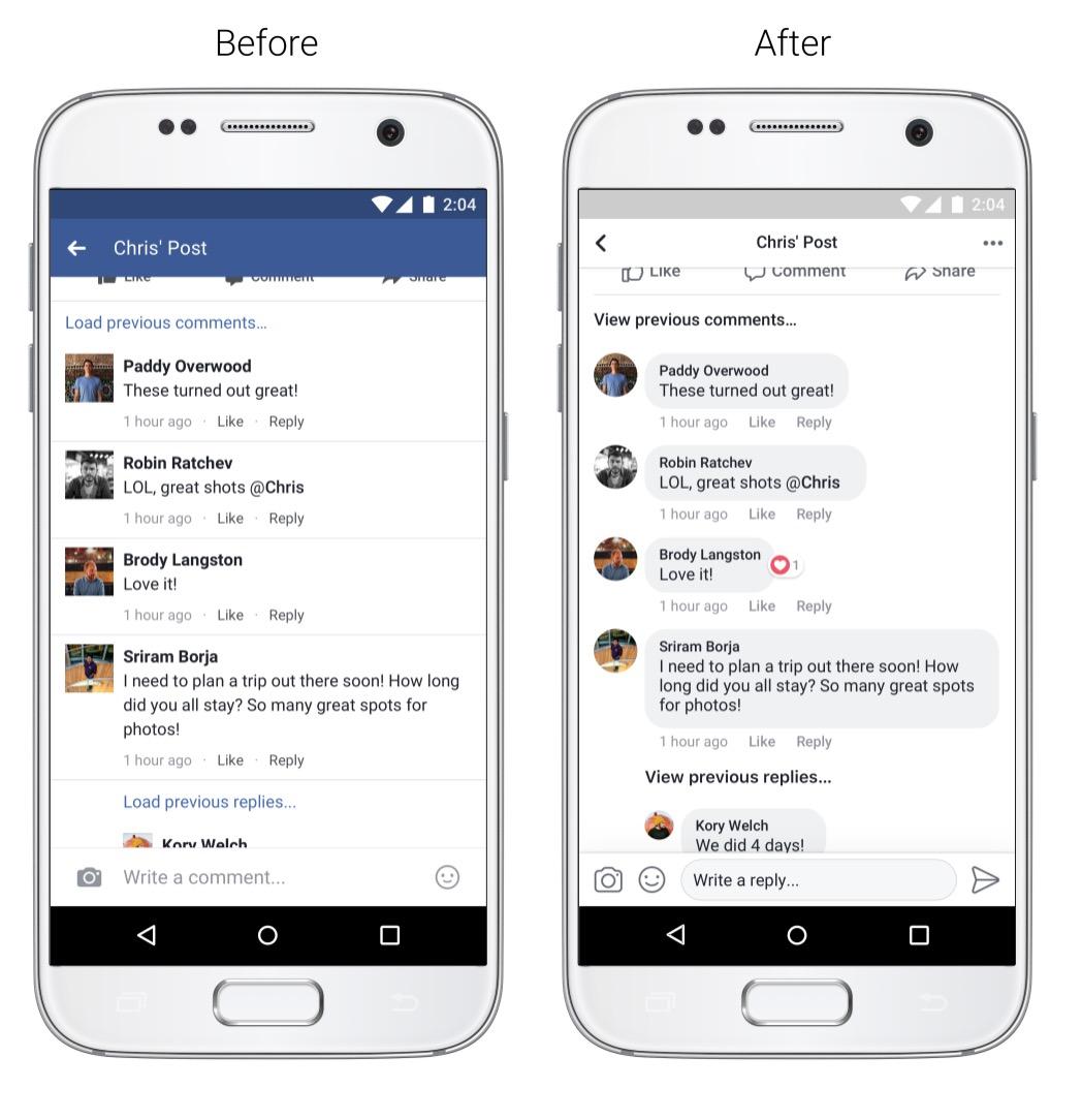 Facebook - nowy wygląd