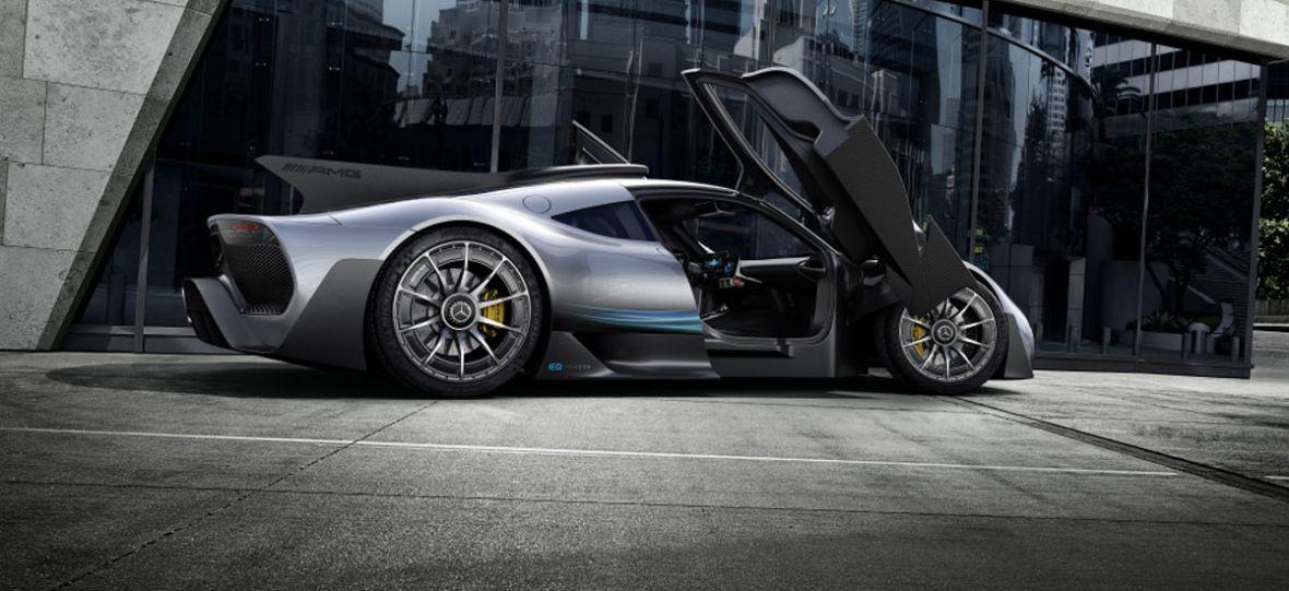 Oto Mercedes-AMG Project One – hiperhybryda, która przejdzie do historii