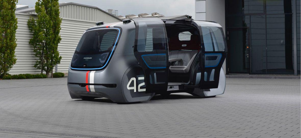 SEDRIC to taki nowoczesny Ogórek Volkswagena. Wygląda niesamowicie