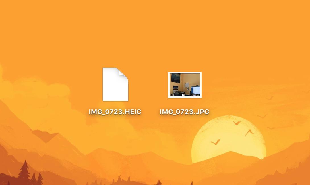 Zdjęcia heic (HEIF) na iOS 11