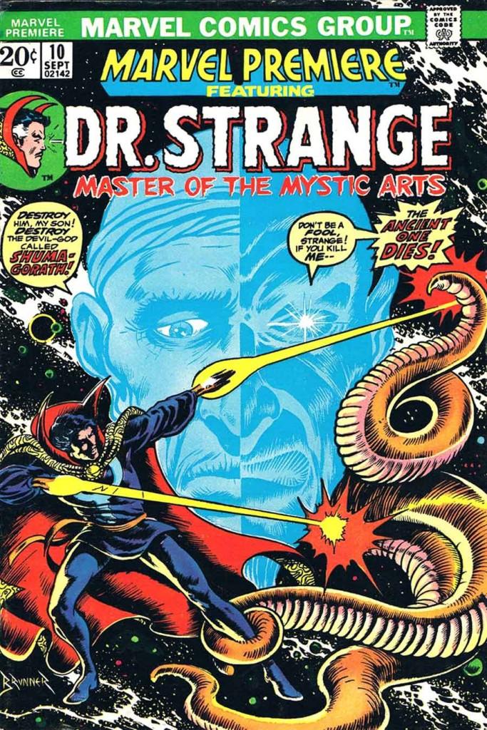 marvel premiere doctor strange ancient one śmierć