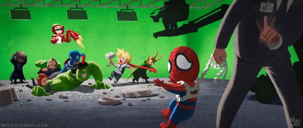 spider-man w mcu