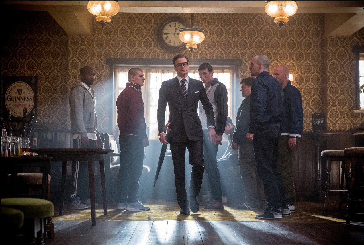 """Na co komu James Bond. """"Kingsman: Tajne służby"""" to najlepszy film jaki zobaczycie teraz w kinie"""