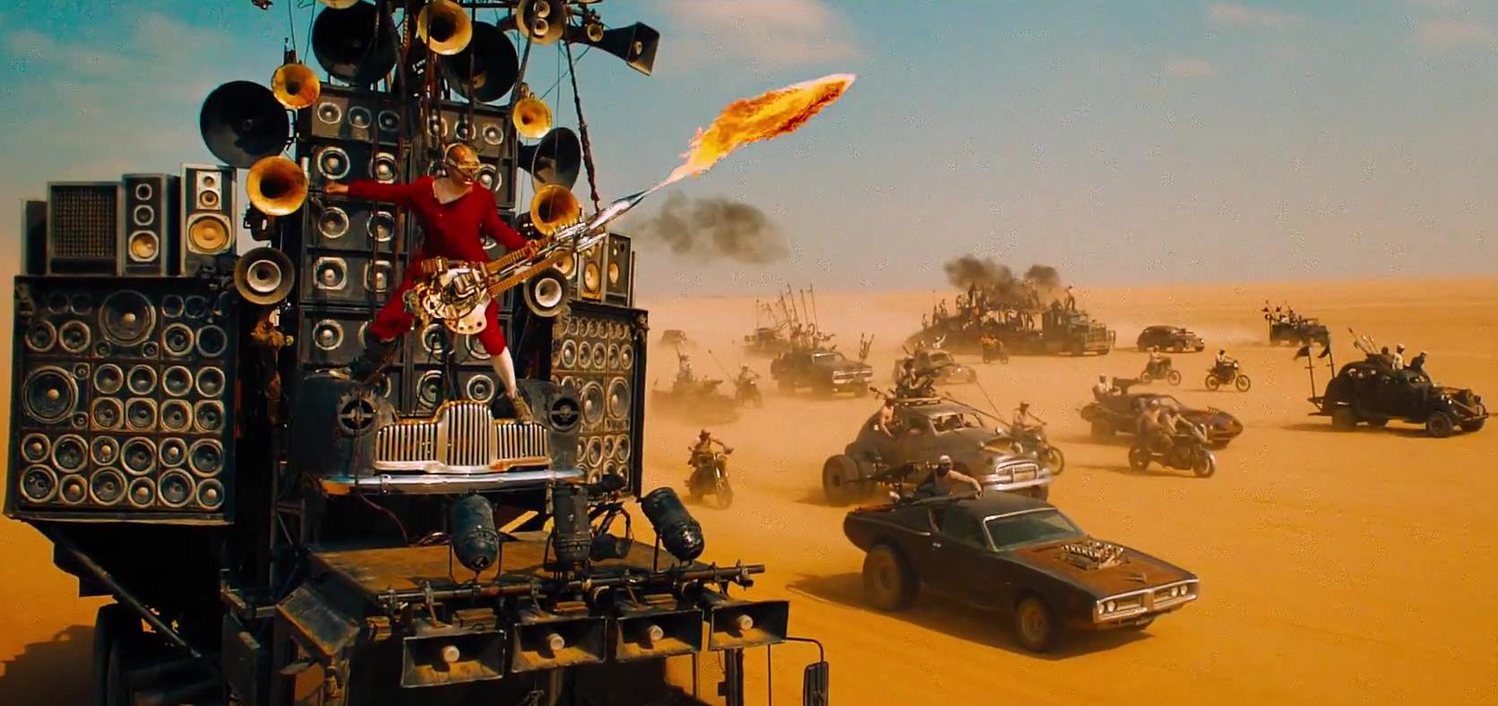 """Nowy zwiastun """"Mad Max: Na drodze gniewu"""" zwala z nóg"""