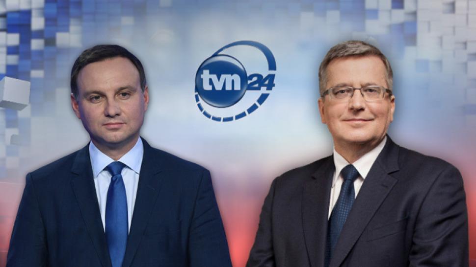 Debata Duda Komorowski – gdzie obejrzeć na żywo, za darmo i w Internecie?