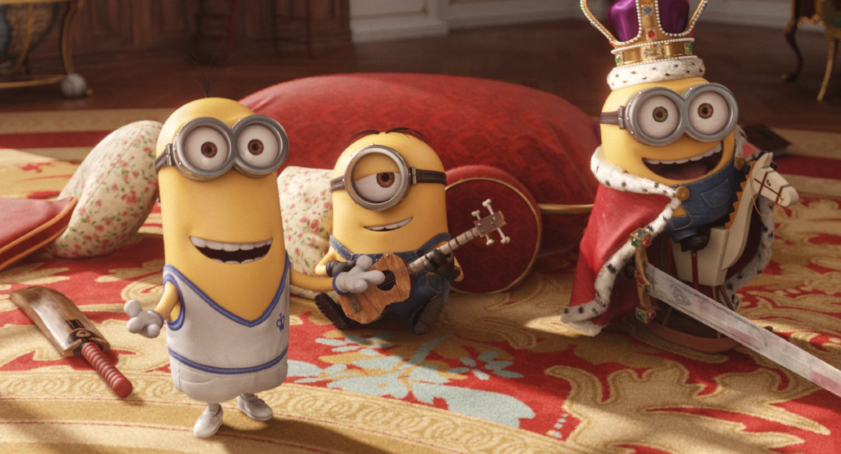 """""""Minionki"""" to udana animacja… Tyle tylko, że nie do końca dla dzieci"""