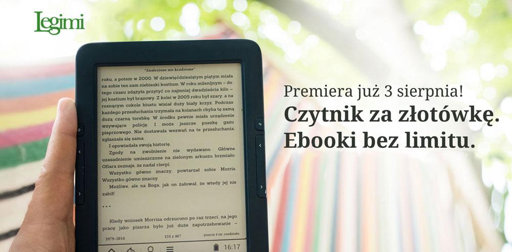 Ebooki na abonament, czytnik za złotówkę. Można już korzystać z jedynej takiej oferty w Polsce