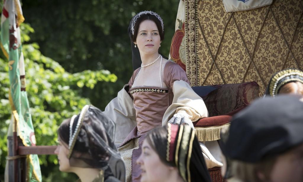 """Claire Foy w serialu """"Wolf Hall"""""""