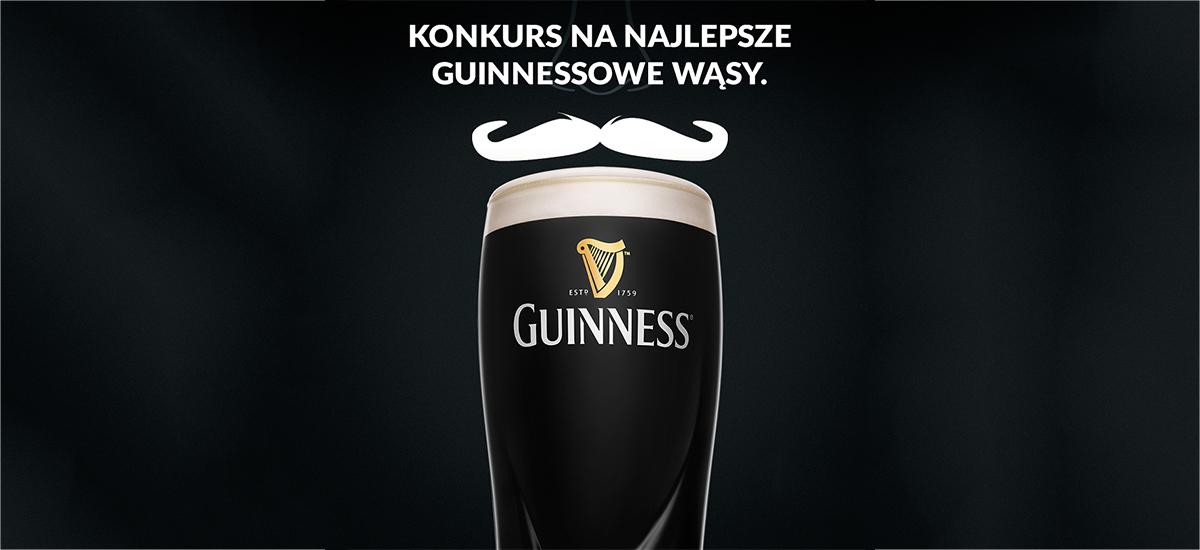 Konkurs na najlepsze guinnessowe wąsy – zrób zdjęcie i wygraj wyjazd do Irlandii